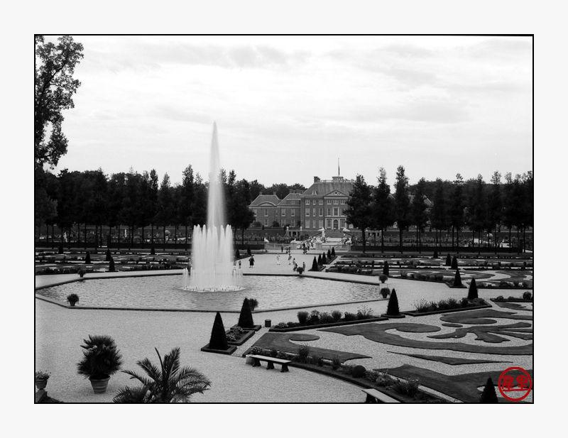 Paleis het Loo, the fountain