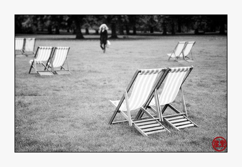 Green Park, late summer