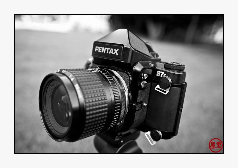 Welcome my new Pentax 67II camera