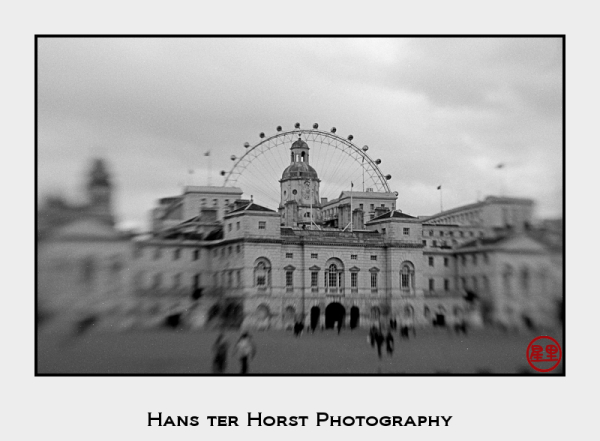 Lensbaby 2.0: halo of the London Eye