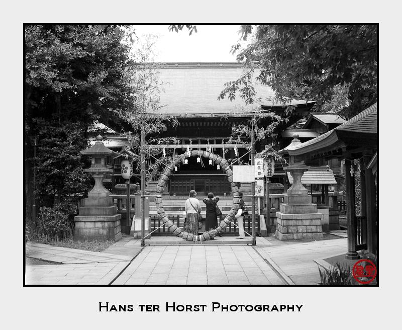 Shrine at Ueno Park