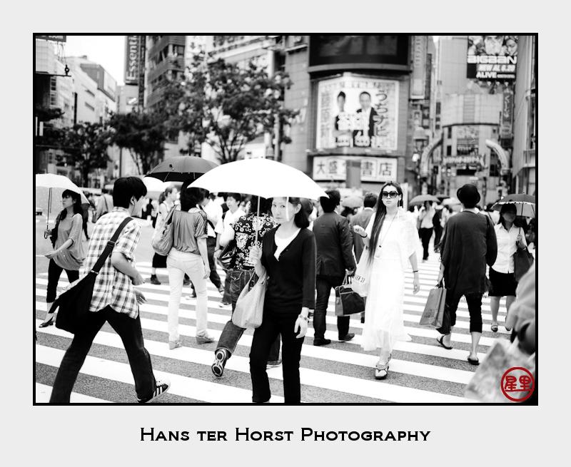 Street Photography: Shibuya crossing
