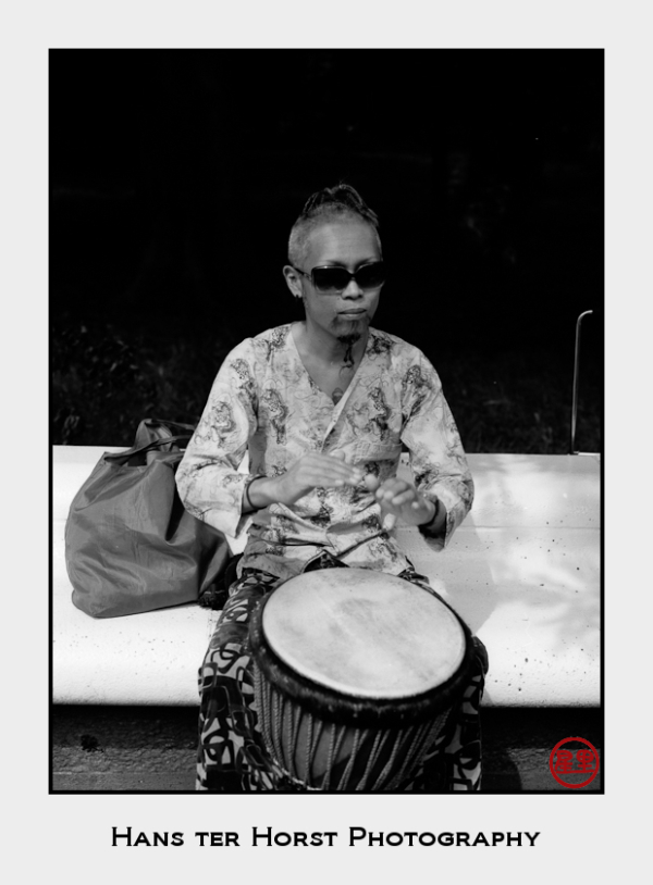 The drummers of Yoyogi Park, Tokyo