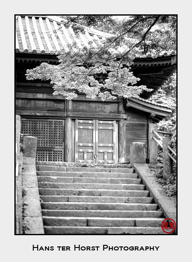 Temple building at the Kita-in temple, Kawagoe