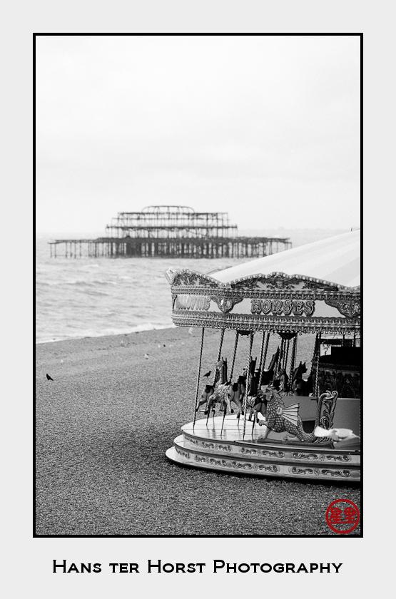 Old pier in Brighton