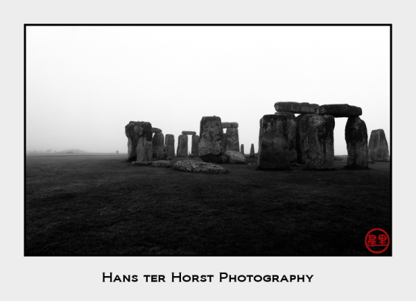 Stonehenge in the fog