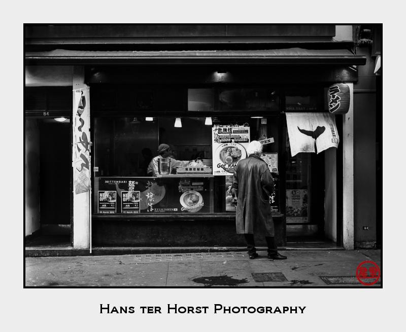 Ramen shop, London