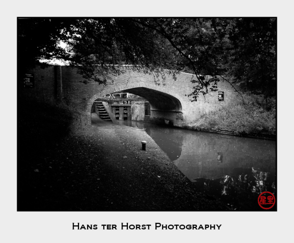 Lock in the Grand Union Canal around Watford