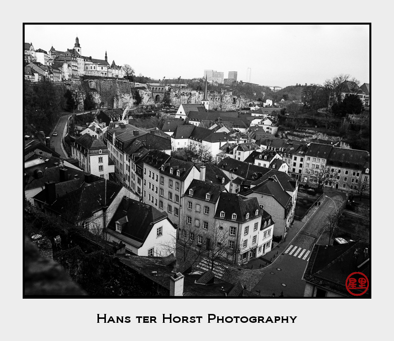 Luxembourg, Grund, the old town