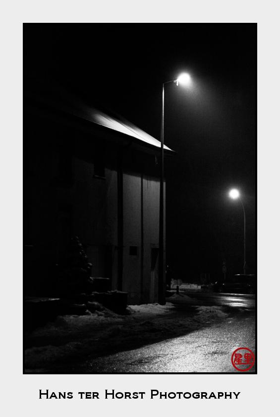 Schouweiler at night