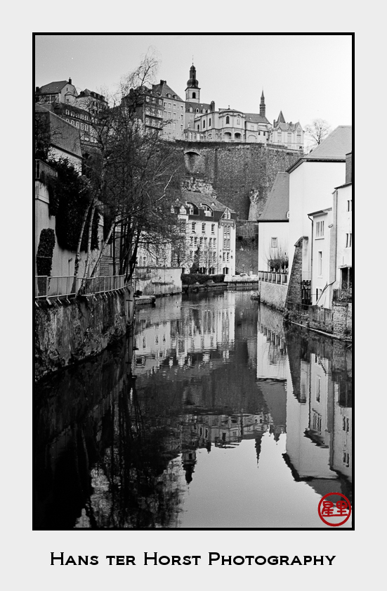 Most classical view of Grund, Luxembourg