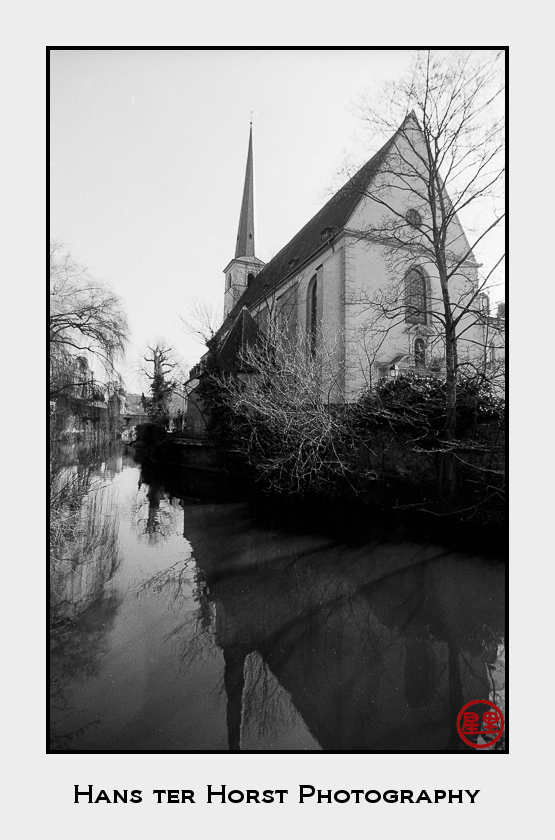 Église Saint Jean du Grund on the River Alzette