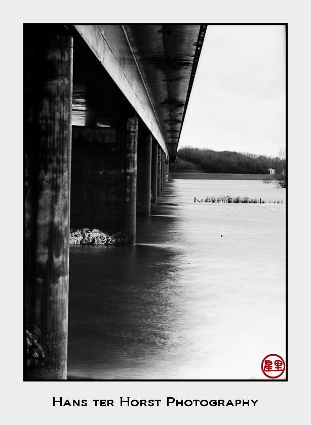 """The """"New Bridge"""" around Zutphen on Rollei PAN 25"""