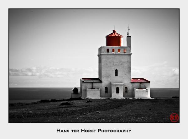 Lighthouse at Dyrhólaey, Iceland