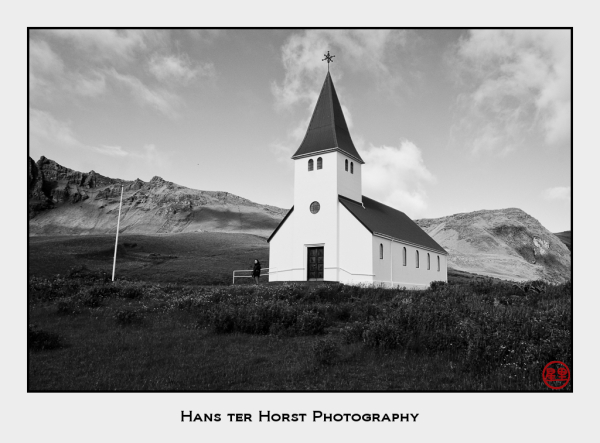 Church in Vík í Mýrdal, Iceland