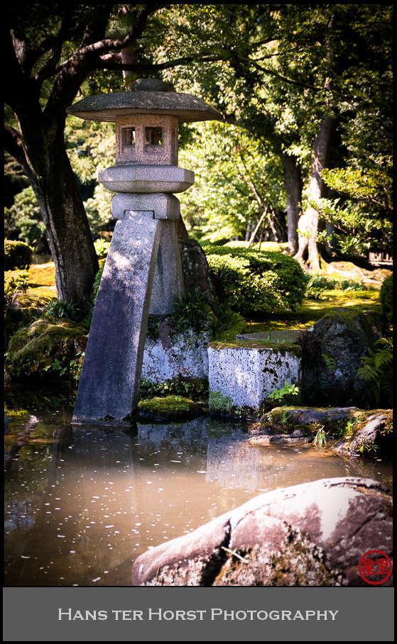 Kotoji stone lantern, Kenrokuen garden