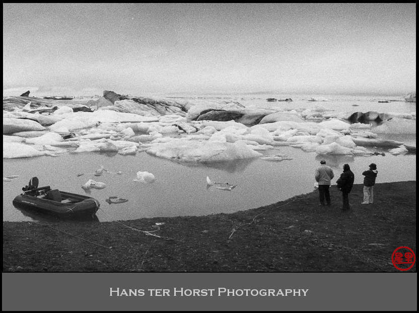 Contemplating the Glacial lagoon at Jökulsárlón