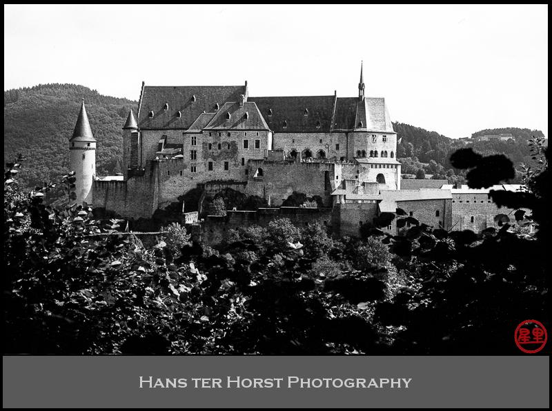Castle Vianden, classic view