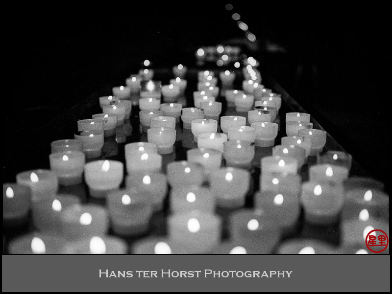 Candles in the Luxembourg Cathedral