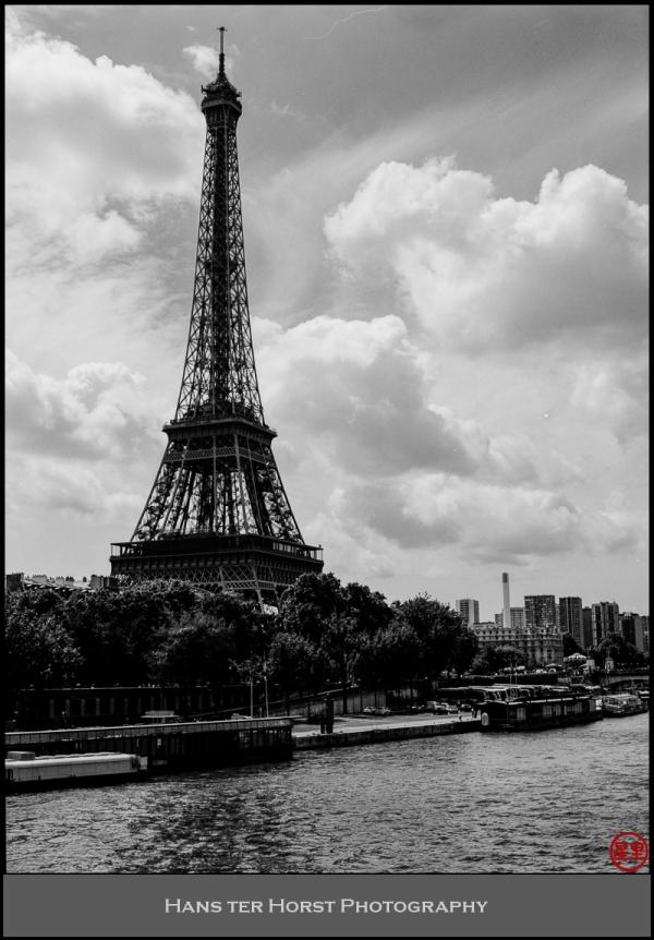 Tour Eiffel from Passerelle Debilly