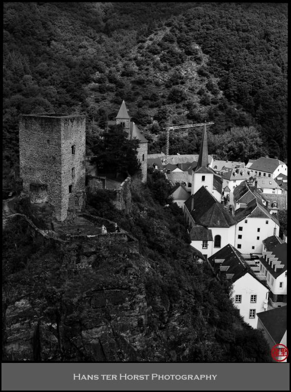 Esch-sur-Sûre, the castle ruins