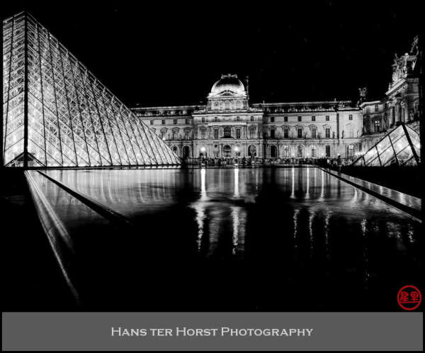 Last of the Louvre night shots