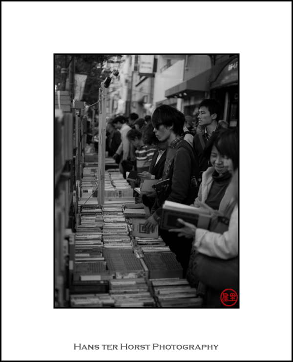 Overview of the Kanda bookmarket