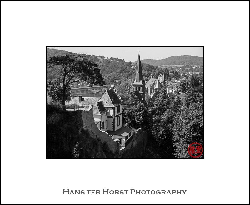 View from the castle in Saarburg