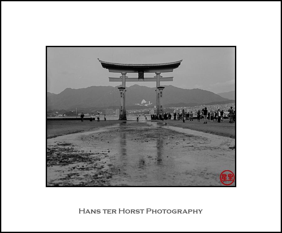 Torii of the Itsukushima Shrine