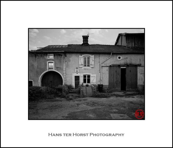 Houses of Grandrupt-de-Bains