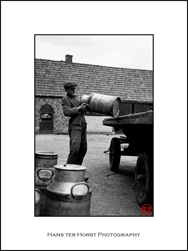 Vintage: To the milk factory
