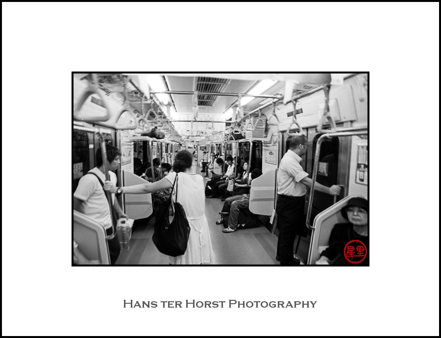 Inside Tokyo's public transport