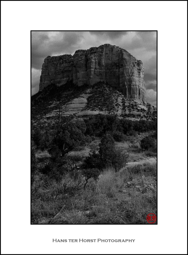 """Sedona: the """"Court House"""" formation"""