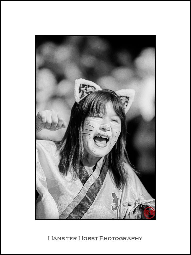 Kattenstoet: Japanese participant