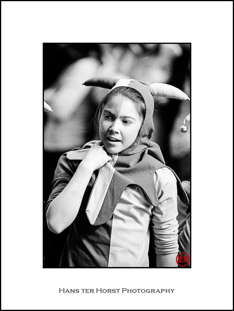 Girl-jester
