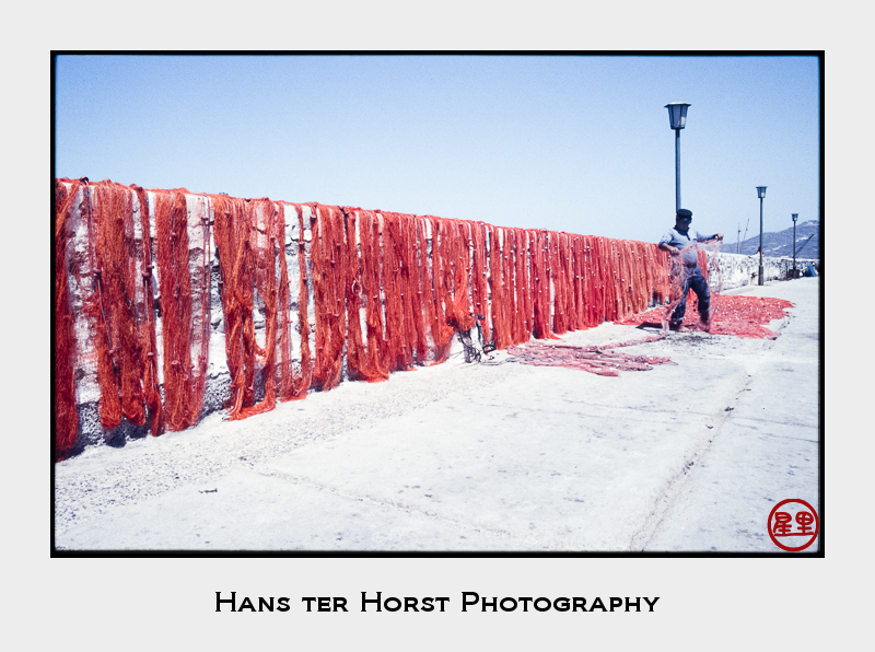 Mykonos: Drying nets