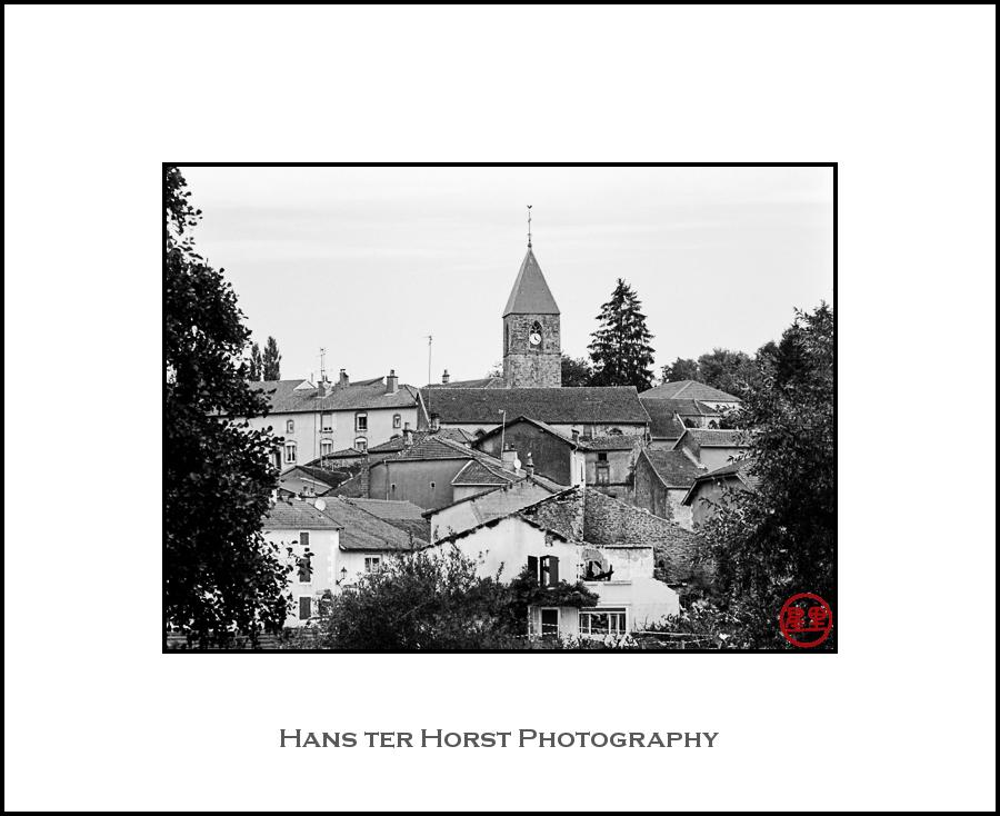 View of Attigny, Vosges