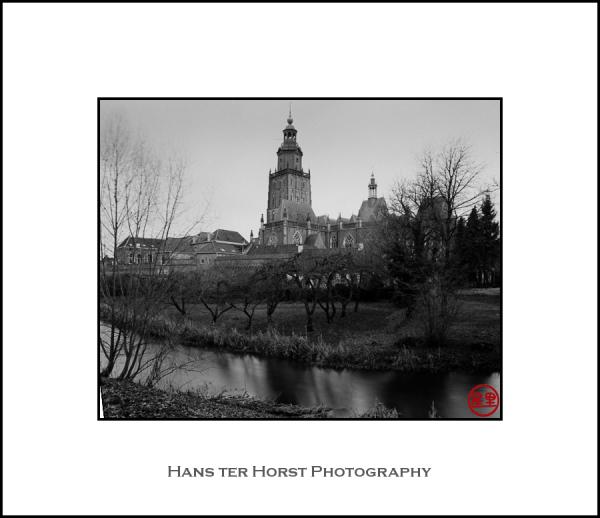 Zutphen: long exposure of St. Walburgis church