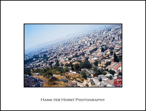 View from the Acropolis of Athens