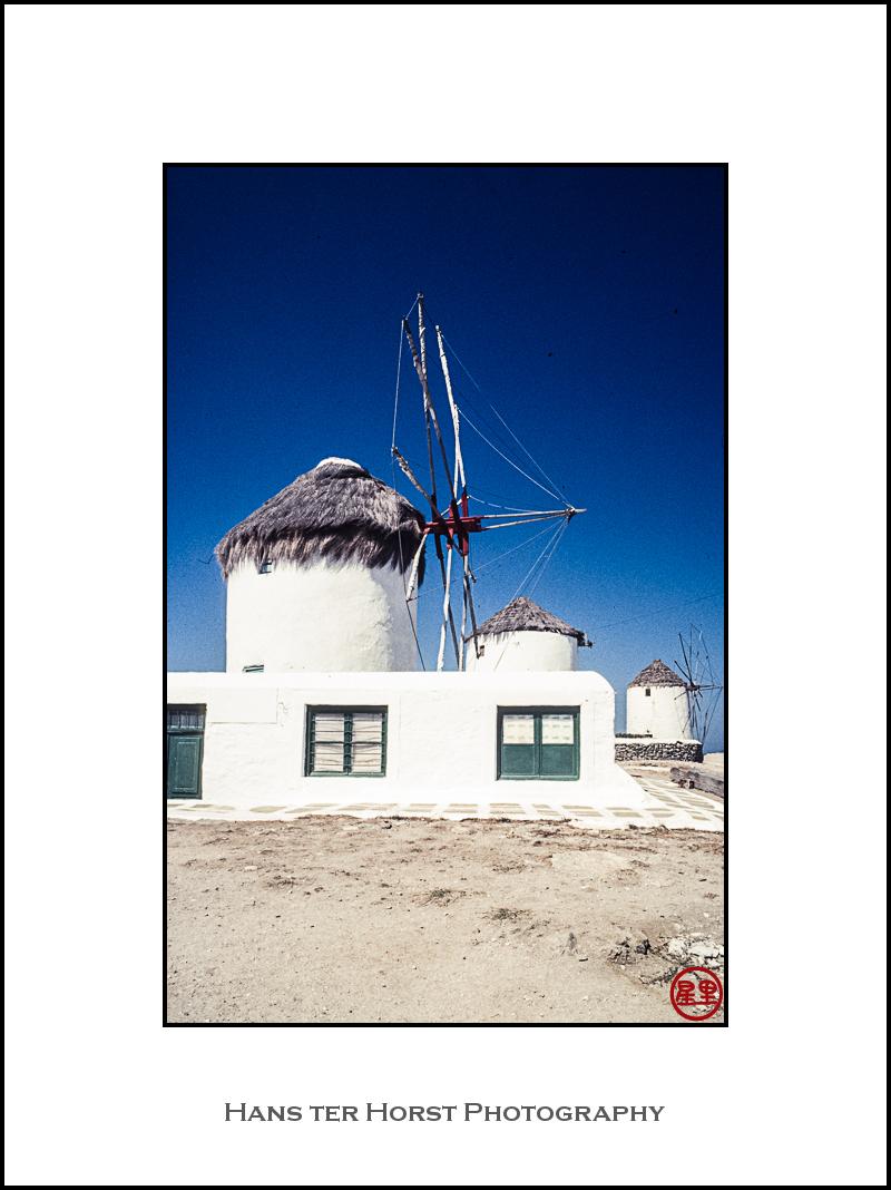 Mykonos windmill, 1985