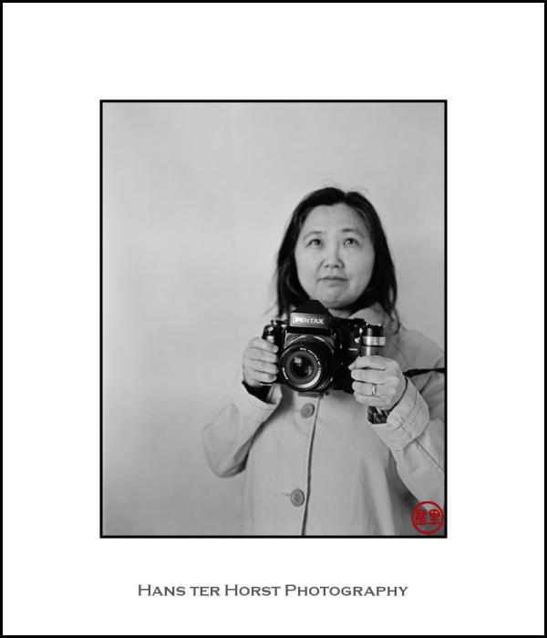 Big Pentax 67II camera