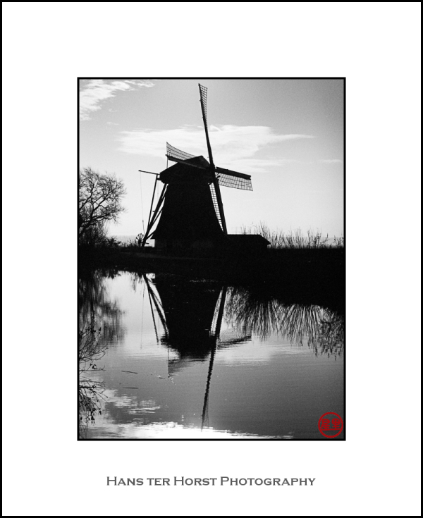 Windmill on the River Gein, Abcoude