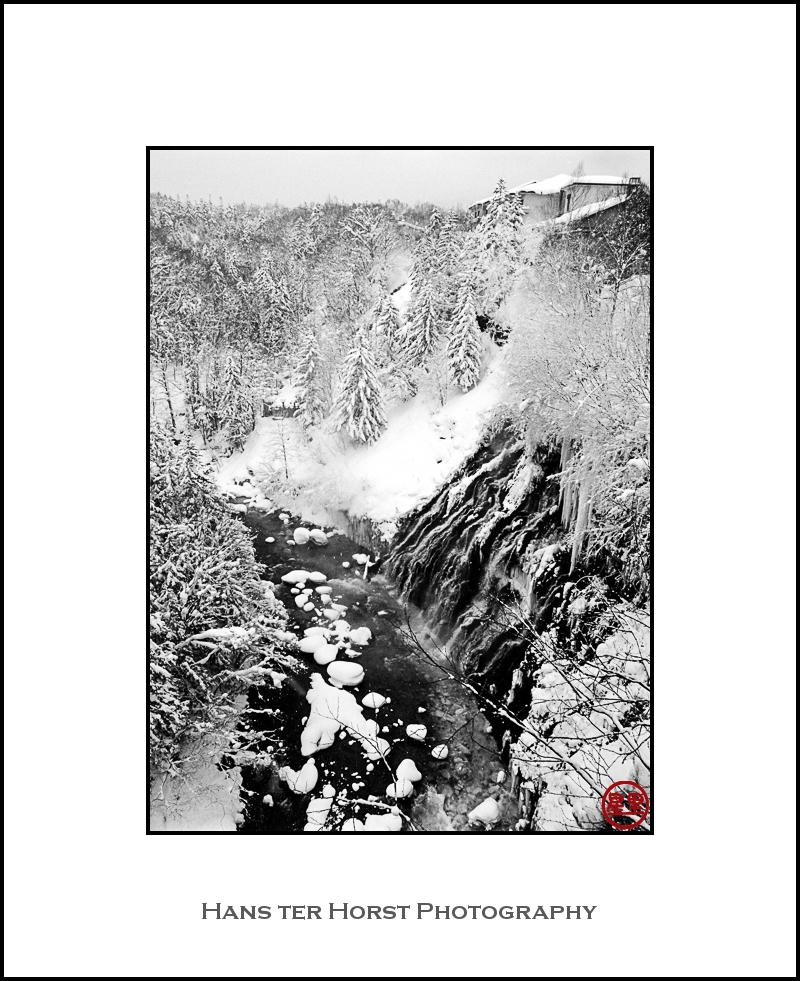 Shirohige waterfall, Shirogane Onsen