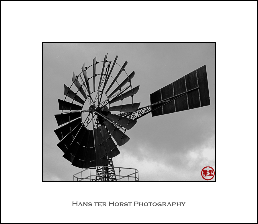 Windmill, close-up