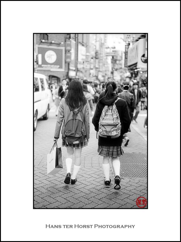After school in Shibuya, Tokyo