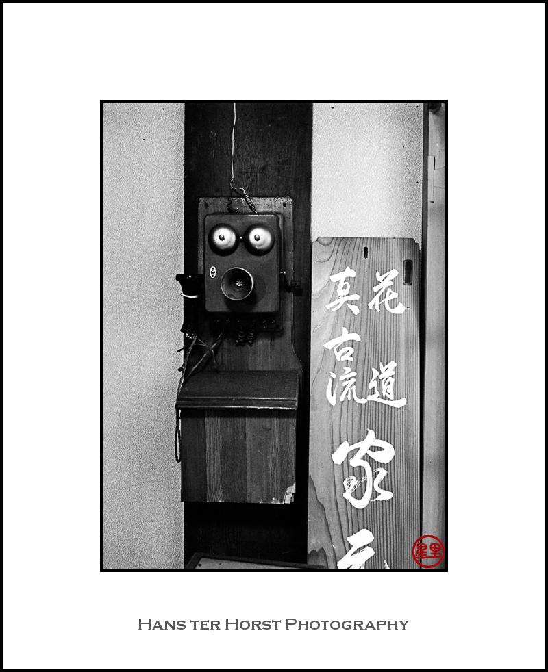 Telephone at Taiyoji Temple