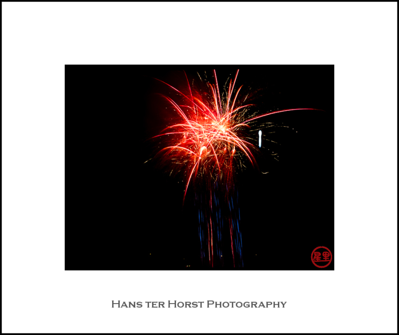 Fireworks of the Fête nationale