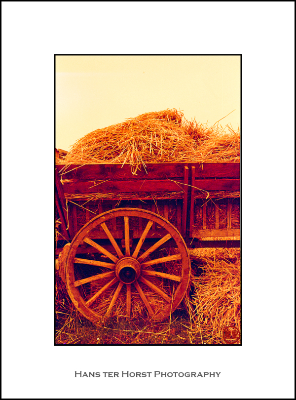 hay wagon wheel