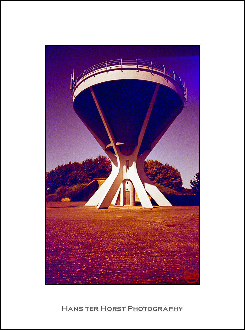 Mamer, water tower on redscale