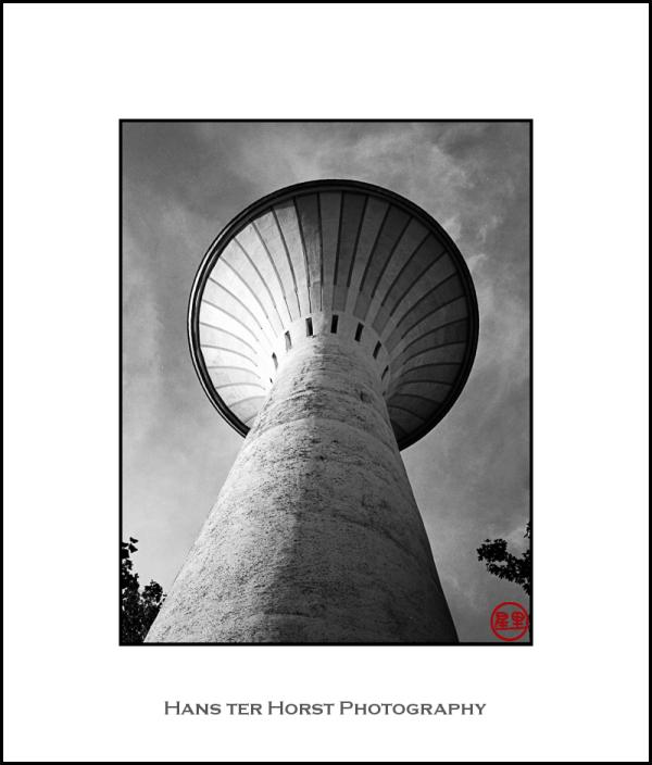 Water tower, Cappelen